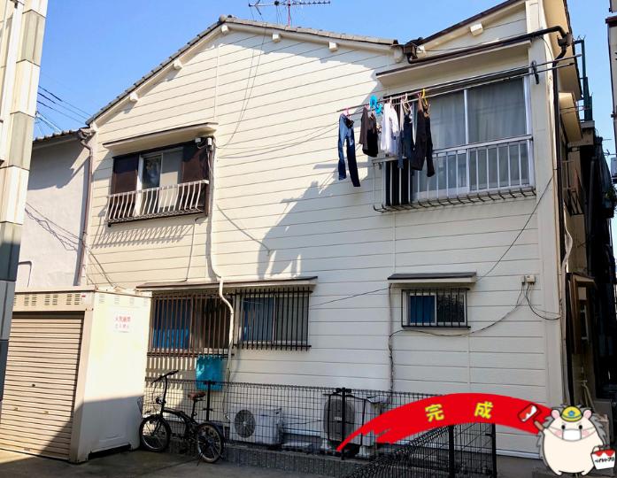大阪市平野区 S様邸 外壁塗装工事