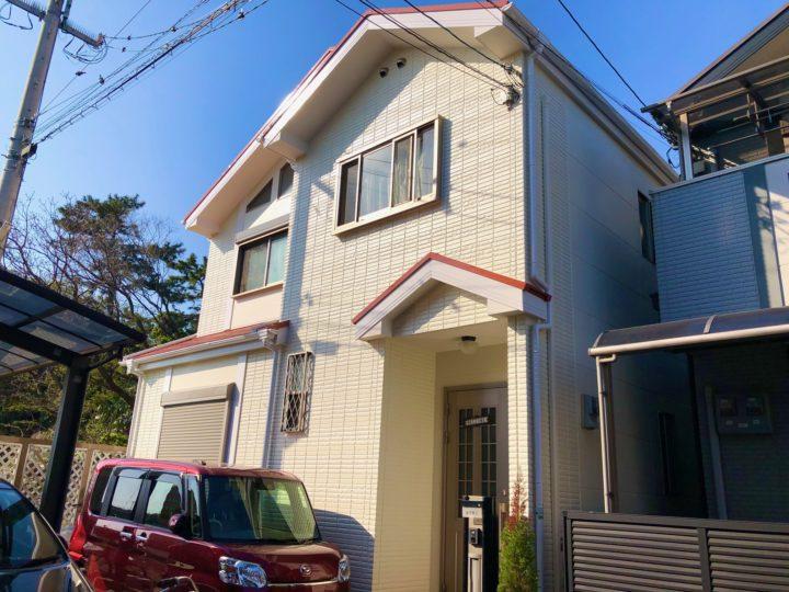 堺市 A様邸 外壁塗装工事
