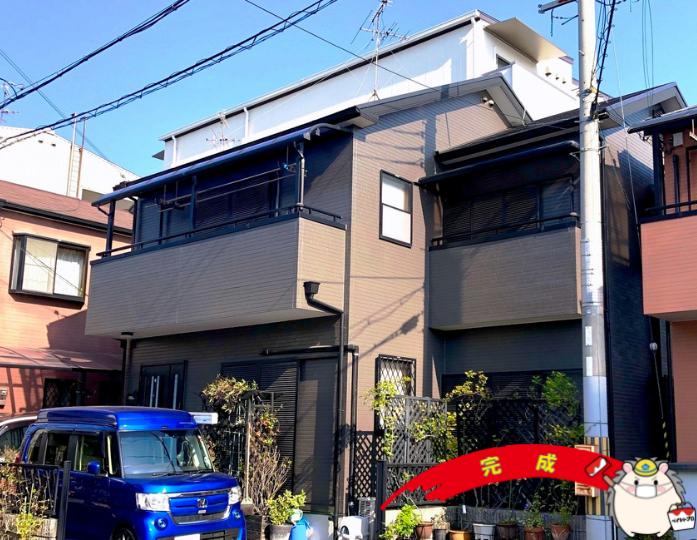大阪府松原市 N様邸 外壁塗装工事