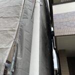 足場設置工事3 大阪市住吉区N様邸外壁塗装・屋根塗装工事   外壁・屋根塗装専門店 ペイントプロ