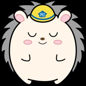大阪市の外壁塗装・屋根塗装専門店 ペイントプロのキャラクター|ハリーくんお辞儀