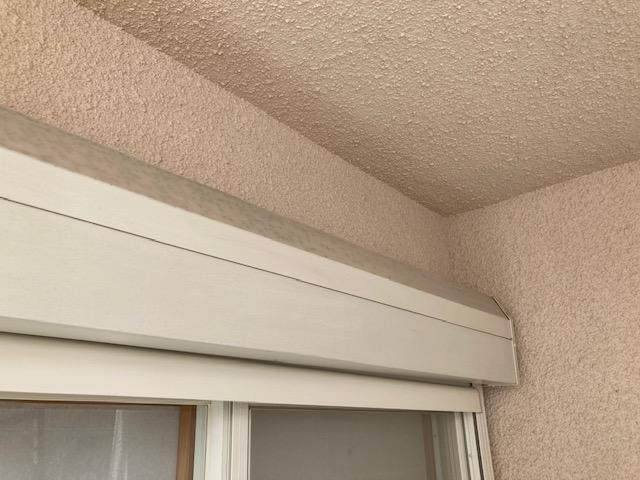 シャッターボックス ケレン後 大阪市住吉区N様邸外壁塗装・屋根塗装工事   外壁・屋根塗装専門店 ペイントプロ