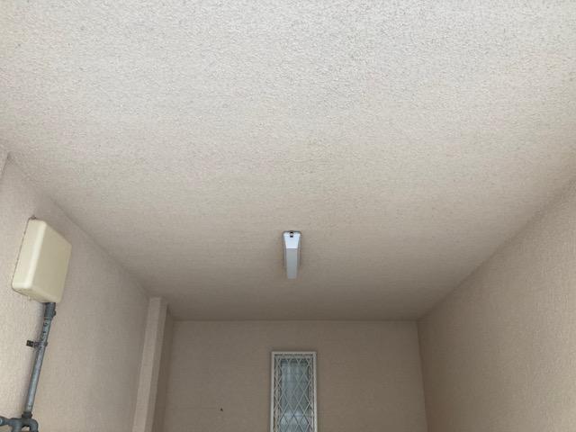 210525天井高圧洗浄後 紹介 大阪市住吉区N様邸外壁塗装・屋根塗装工事   外壁・屋根塗装専門店 ペイントプロ