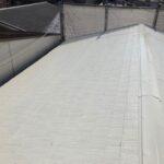 屋根塗装上塗り2回目|大阪市住吉区N様邸外壁塗装・屋根塗装工事 | 外壁・屋根塗装専門店 ペイントプロ