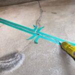 ベランダ床防水コーキング|大阪市住吉区N様邸外壁塗装・屋根塗装工事 | 外壁・屋根塗装専門店 ペイントプロ