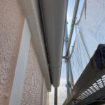 雨樋A塗装前|大阪市住吉区N様邸外壁塗装・屋根塗装工事 | 外壁・屋根塗装専門店 ペイントプロ