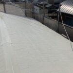 屋根塗装上塗り2回目2|大阪市住吉区N様邸外壁塗装・屋根塗装工事 | 外壁・屋根塗装専門店 ペイントプロ