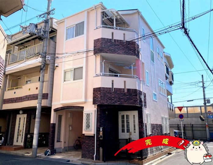 大阪市住吉区 N様邸 外壁・屋根塗装工事