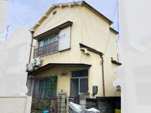 足場設置前1|K様邸外壁塗装工事 | 大阪市の外壁塗装・屋根塗装専門店 ペイントプロ