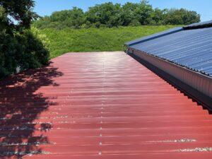 屋根塗装前1|O牧場様屋根塗装工事 | 大阪市の外壁塗装・屋根塗装専門店 ペイントプロ