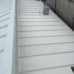 210709_上塗り1_1 大阪市住吉区K様邸外壁塗装・屋根塗装工事   外壁・屋根塗装専門店 ペイントプロ