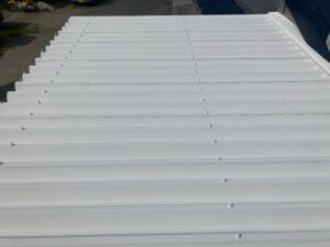B上塗り2回目_完成|O牧場様屋根塗装工事 | 大阪市の外壁塗装・屋根塗装専門店 ペイントプロ