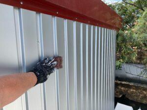 壁_ケレン中 O牧場様屋根塗装工事   大阪市の外壁塗装・屋根塗装専門店 ペイントプロ
