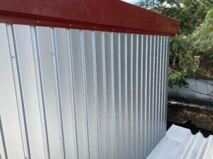 壁_ケレン後 O牧場様屋根塗装工事   大阪市の外壁塗装・屋根塗装専門店 ペイントプロ