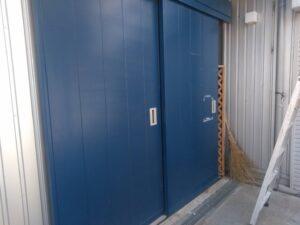 ドア_ケレン後 O牧場様屋根塗装工事   大阪市の外壁塗装・屋根塗装専門店 ペイントプロ