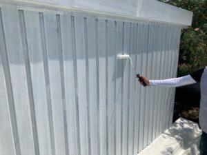 壁_下塗り O牧場様屋根塗装工事   大阪市の外壁塗装・屋根塗装専門店 ペイントプロ