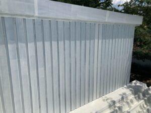 壁_下塗り後 O牧場様屋根塗装工事   大阪市の外壁塗装・屋根塗装専門店 ペイントプロ