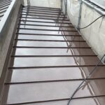 210702_高圧洗浄後 大阪市住吉区K様邸外壁塗装・屋根塗装工事   外壁・屋根塗装専門店 ペイントプロ