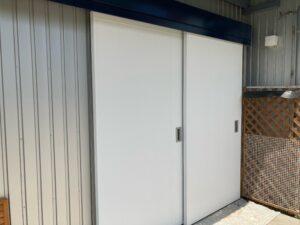ドア_塗装完了 O牧場様屋根塗装工事   大阪市の外壁塗装・屋根塗装専門店 ペイントプロ