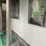 3A_K様邸外壁塗装・屋根塗装工事 外壁下塗り作業写真/大阪市住吉区・東住吉区の外壁・屋根塗装専門店 ペイントプロ