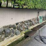 4C_K様邸外壁塗装・屋根塗装工事 外壁高圧洗浄作業写真/大阪市住吉区・東住吉区の外壁・屋根塗装専門店 ペイントプロ