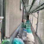 1B_K様邸外壁塗装・屋根塗装工事 外壁下塗り作業写真/大阪市住吉区・東住吉区の外壁・屋根塗装専門店 ペイントプロ