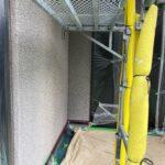 1C_K様邸外壁塗装・屋根塗装工事 外壁下塗り作業写真/大阪市住吉区・東住吉区の外壁・屋根塗装専門店 ペイントプロ