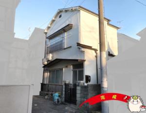 兵庫県尼崎市 K様邸 外壁塗装工事