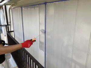 210730_雨戸上塗り 鉄部塗装工事 K様邸外壁塗装工事