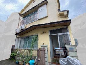 足場設置前2|K様邸外壁塗装工事 | 大阪市の外壁塗装・屋根塗装専門店 ペイントプロ