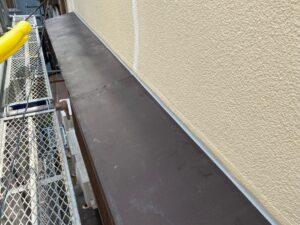 210726_庇Aケレン前 K様邸外壁塗装工事   大阪市の外壁塗装専門店 ペイントプロ
