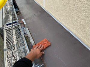 210726_庇Aケレン中 K様邸外壁塗装工事   大阪市の外壁塗装専門店 ペイントプロ