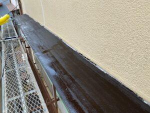 210726_庇A止め塗布完了 K様邸外壁塗装工事   大阪市の外壁塗装専門店 ペイントプロ