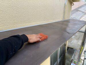 210726_庇Bケレン中 K様邸外壁塗装工事   大阪市の外壁塗装専門店 ペイントプロ