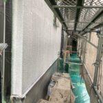 3B_K様邸外壁塗装・屋根塗装工事 外壁下塗り作業写真/大阪市住吉区・東住吉区の外壁・屋根塗装専門店 ペイントプロ