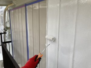 210730_雨戸下塗り 鉄部塗装工事 K様邸外壁塗装工事