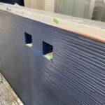 Y様邸外壁塗装・屋根塗装工事 外壁塗装工事 色替え上塗り一回目後/大阪市住吉区・東住吉区の外壁・屋根塗装専門店 ペイントプロ