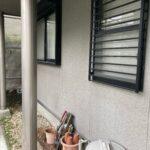 1A_K様邸外壁塗装・屋根塗装工事 外壁高圧洗浄作業写真/大阪市住吉区・東住吉区の外壁・屋根塗装専門店 ペイントプロ