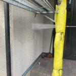 2B_K様邸外壁塗装・屋根塗装工事 外壁高圧洗浄作業写真/大阪市住吉区・東住吉区の外壁・屋根塗装専門店 ペイントプロ