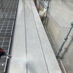 Y様邸外壁塗装・屋根塗装工事 高圧洗浄中写真/大阪市住吉区・東住吉区の外壁・屋根塗装専門店 ペイントプロ