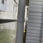 5_Y様邸外壁塗装・屋根塗装工事 雨樋錆止め塗布後写真/大阪市住吉区・東住吉区の外壁・屋根塗装専門店 ペイントプロ
