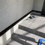 5_K様邸外壁塗装・屋根塗装工事 水切りケレン・錆止め作業写真/大阪市住吉区・東住吉区の外壁・屋根塗装専門店 ペイントプロ