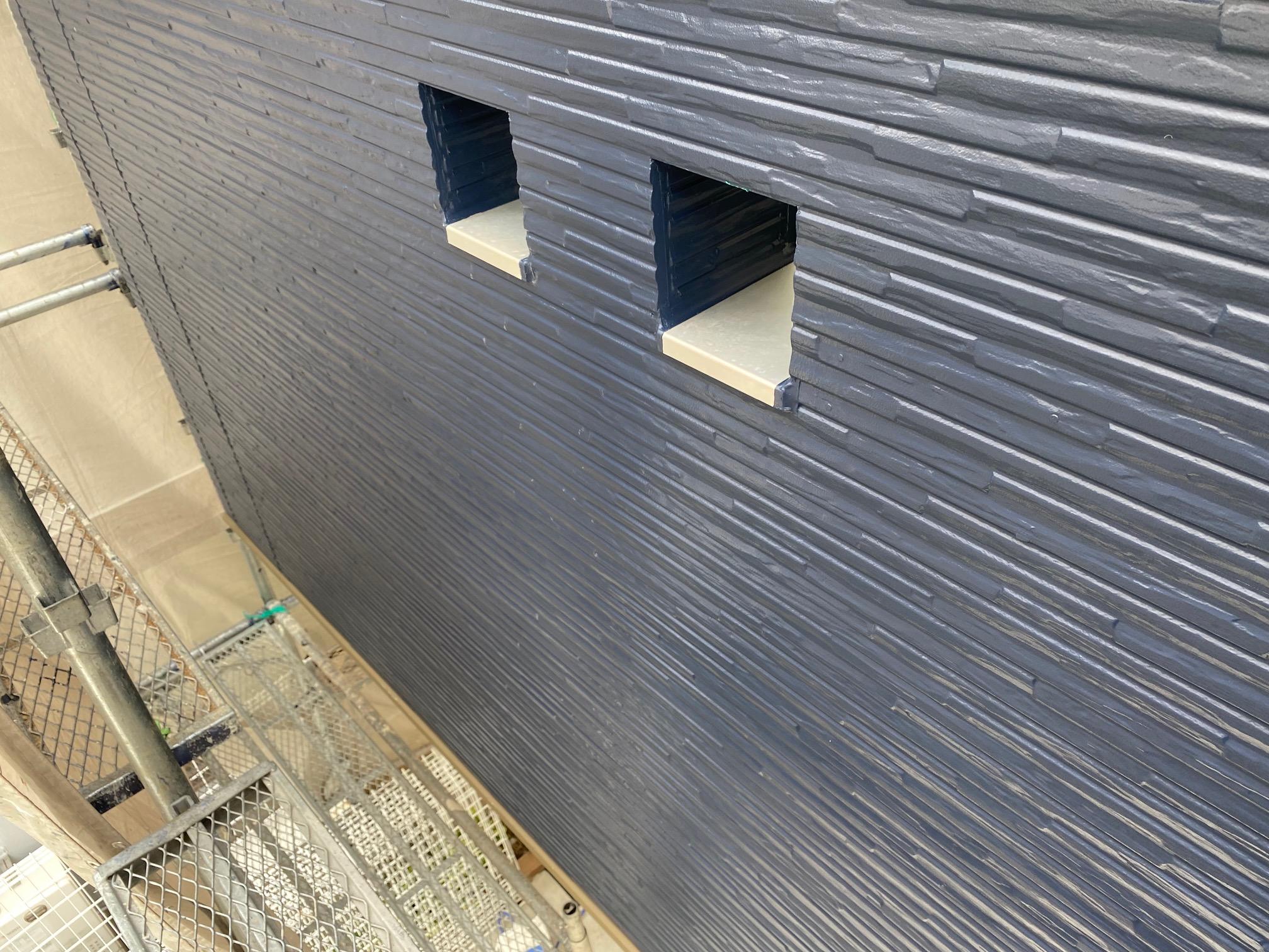 Y様邸外壁塗装・屋根塗装工事 外壁塗装色替え完了写真/大阪市住吉区・東住吉区の外壁・屋根塗装専門店 ペイントプロ