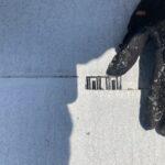 K様邸外壁塗装・屋根塗装工事 屋根塗装下塗工事タスペーサー/大阪市住吉区・東住吉区の外壁・屋根塗装専門店 ペイントプロ