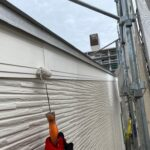 Y様邸外壁塗装・屋根塗装工事 破風塗装工事3写真/大阪市住吉区・東住吉区の外壁・屋根塗装専門店 ペイントプロ