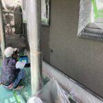 K様邸外壁塗装・屋根塗装工事 A外壁塗装上塗工事3/大阪市住吉区・東住吉区の外壁・屋根塗装専門店 ペイントプロ