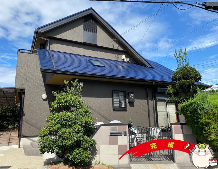 大阪府枚方市 K様邸 外壁塗装・屋根塗装工事