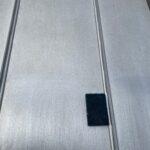 Y様邸外壁塗装・屋根塗装工事 屋根ケレン中写真/大阪市住吉区・東住吉区の外壁・屋根塗装専門店 ペイントプロ