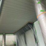 K様邸外壁塗装・屋根塗装工事 付帯塗装工事軒天井塗装3/大阪市住吉区・東住吉区の外壁・屋根塗装専門店 ペイントプロ