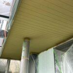 K様邸外壁塗装・屋根塗装工事 付帯塗装工事軒天井塗装4/大阪市住吉区・東住吉区の外壁・屋根塗装専門店 ペイントプロ